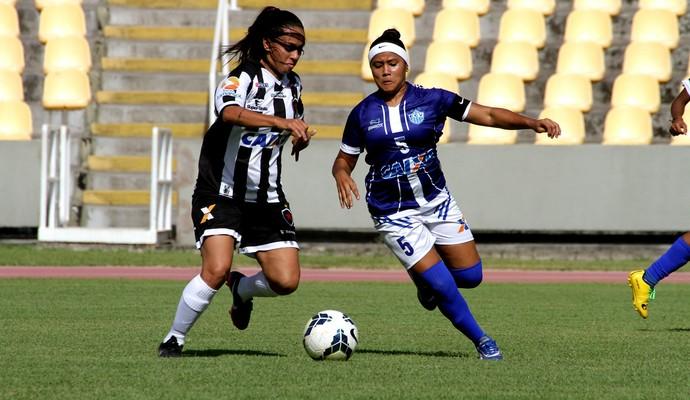 Viana x Botafogo-PB (Foto: Biaman Prado/O Estado)