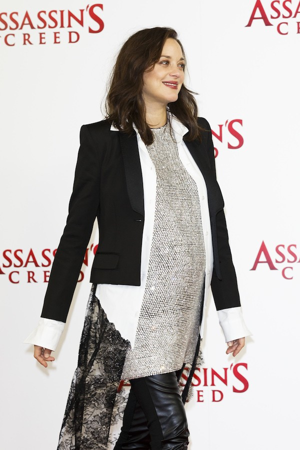 A atriz Marion Cotillard grávida (Foto: Getty Images)