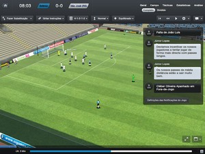 'Football Manager 2013' traz interface mais simples e gráficos melhores nas partidas para atrair novos gamers (Foto: Reprodução)