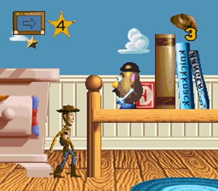 Toy Story no Super Nintendo (Foto: Reprodução/Emu Paradise)