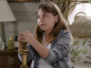 Mila interpreta Carol (Foto: Salve Jorge / TV Globo)