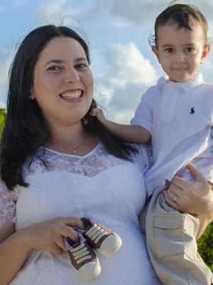 Juliana transformou a experiência do próprio parto em conhecimento para atuar como doula na Paraíba (Foto: Gestar & Maternar / Leonardo Accioly)