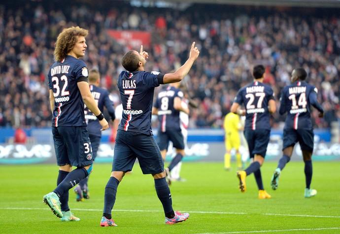 Lucas PSG x Bordeaux (Foto: AFP)