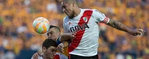 Tigres e River Plate empatam sem gols no México no 1º jogo da final (Christian Palma / AP Photo)