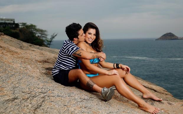 Andressa Ferreira e Thammy posando para o EGO (Foto: Marcos Serra Lima/EGO)