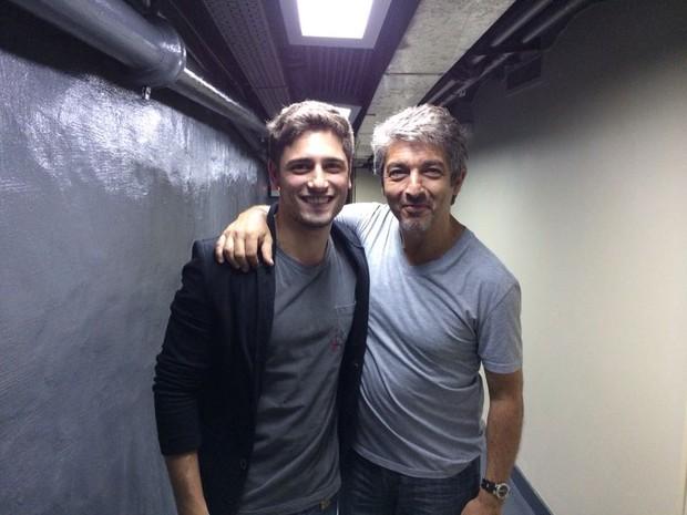 Daniel Rocha e Ricardo Darín (Foto: Arquivo pessoal)