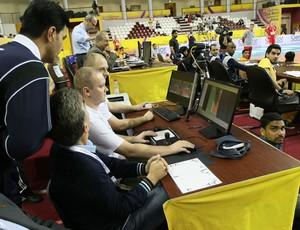 Volei verification system Sistema de verificação (Foto: Divulgação/FIVB)