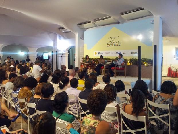 Flica 1º Dia Bahia (Foto: Ruan Melo/G1 BA)