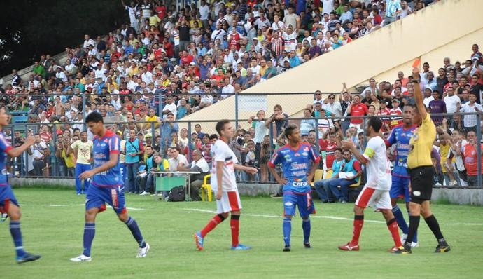 River-PI x Piauí (Foto: Emanuele Madeira/GloboEsporte.com)