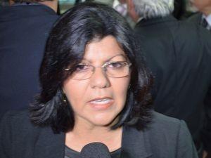 Angélica Guimarães, presidente da Assembleia Legislativa de Sergipe (Foto: Marina Fontenele/G1 SE)
