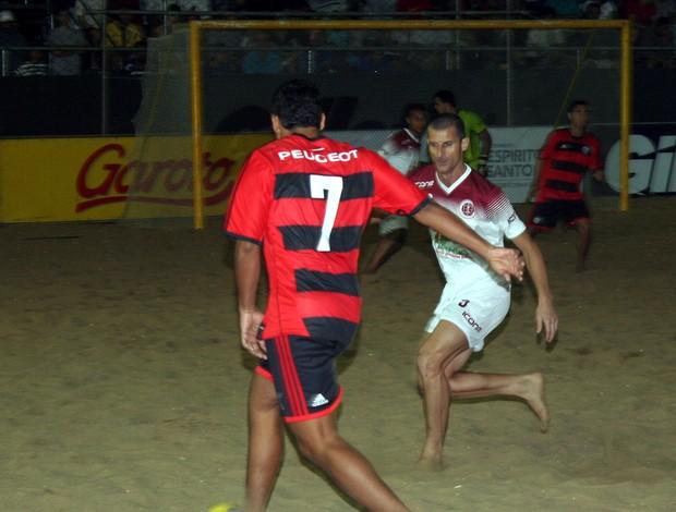 Desportiva venceu o Flamengo nos pênaltis na estreia do Circuito Brasileiro (Foto: Pauta Livre)