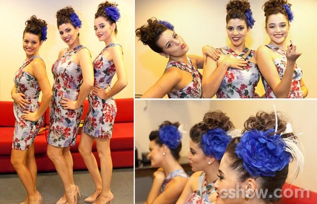Cluster Sisters look (Foto: Dafne Bastos/TV Globo)
