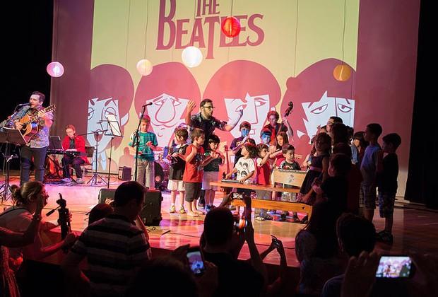 'Beatles para Crianças' , uma das atrações da Viradinha Cultural (Foto: Divulgação)
