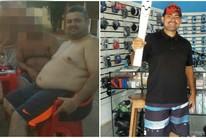 Autônomo elimina mais de 40kg no Acre (Arquivo pessoal)