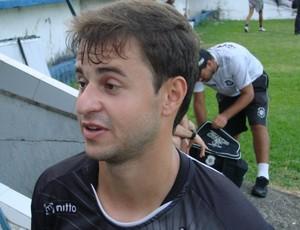 Hitalo, atacante do Rio Branco-ES (Foto: Sidney Magno Novo/Globoesporte.com)