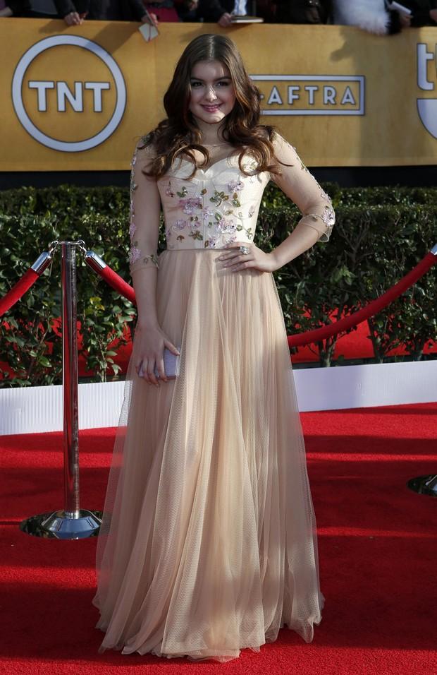 A atriz Ariel Winter  no Screen Actors Guild Awards 2013 (Foto: Reprodução / Agência Reuters)