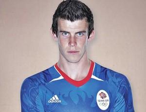 Gareth bale camisa seleção britância olimpíadas (Foto: Divulgação)