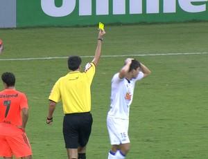 Lucas Silva, volante do Cruzeiro (Foto: Reprodução / Premiere FC)
