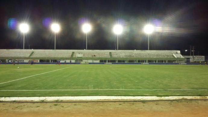 Estádio Nazarenão, em Goianinha - TR (Foto: Marcelo Montenegro)