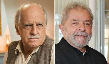 Ary e Lula: o ator diz que não seu personagem não é uma caricatura do ex-presidente (Foto: Divulgação)