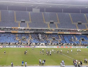 Engenhão Vazio, Botafogo x Figueirense (Foto: André Casado / Globoesporte.com)