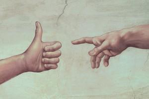 """O ateísmo  """"paz e amor"""" (Foto: Farrell)"""