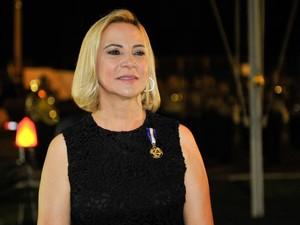 Ex-primeira-dama de Mato Grosso, Roseli Barbosa é acusada de desviar verba da Assistência Social. (Foto: Mayke Toscano / Secom-MT)