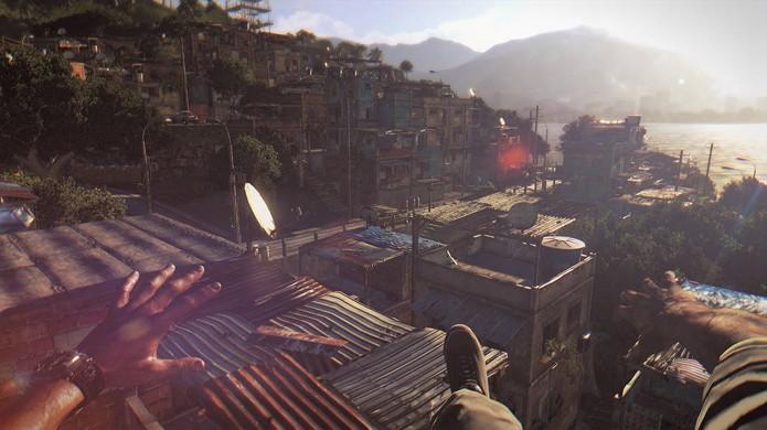O mundo de Dying Light não é apenas extenso, mas também vertical (Foto: Softpedia)