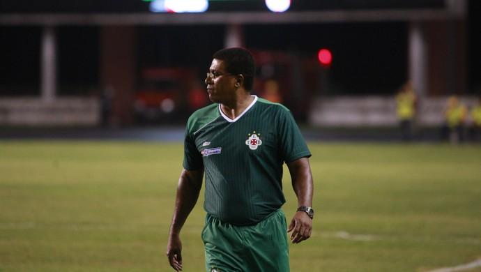 Samuel Cândido continua como técnico da Tuna (Foto: Tarso Sarraf)