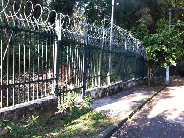 Parque Municipal de Paraisópolis foi criado por lei em 2008, mas não saiu do papel (Foto: Vivian Reis/G1)