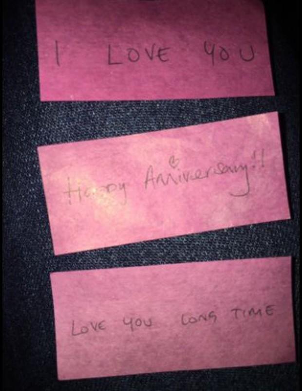 Recados do namorado de Adele (Foto: twitter / Reprodução)