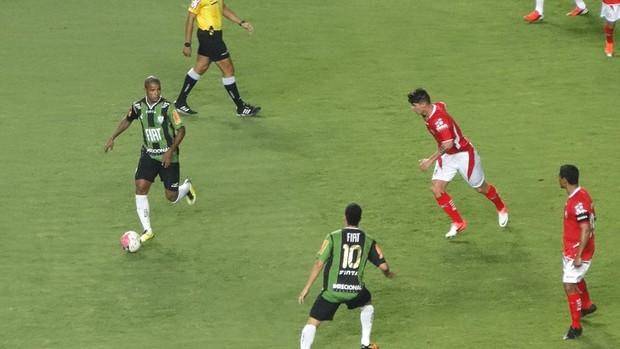 América-MG x Boa Esporte (Foto: Tarcísio Badaró / Globoesporte.com)