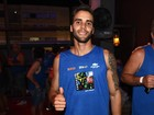 Sem Ivete Sangalo, Daniel Cady curte o carnaval com amigos