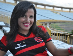 Ingrid Rodrigues - Flamengo-PI (Foto: Renan Morais/GLOBOESPORTE.COM)