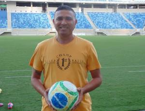 José Ivanaldo de Souza - ídolo do América (Foto: Carlos Arthur da Cruz/GloboEsporte.com)