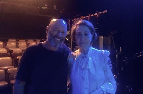 Eduardo Wotzik e Fernanda Montenegro  (Foto: Carmen Melo)