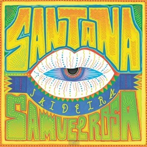 Capa de single de Santana com Samuel Rosa (Foto: Divulgação)