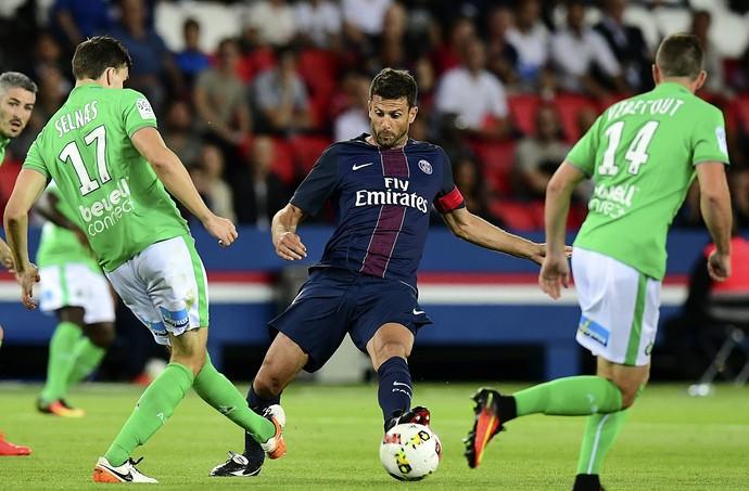 Thiago Motta PSG x Saint-Étienne (Foto: AFP)