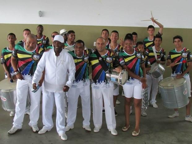 Futsamba ensaia regularmente às quartas e aos domingos, na Beira Mar de São José (Foto: Prefeitura de São José/ Divulgação)