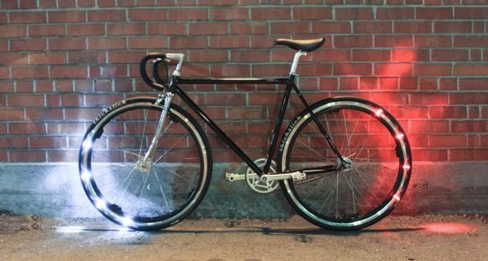 Eclipse+, kit de luz LED que deixa as bicicletas smarts (Foto: Divulgação/Revolights)
