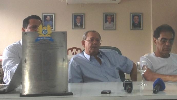 Diretoria do Nacional apresenta projeto (Foto: Gabriel Mansur)