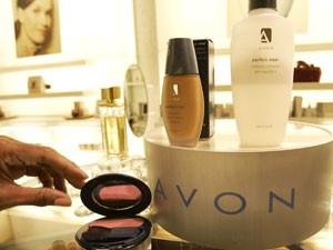 Linha de cosméticos da Avon (Foto: AP)