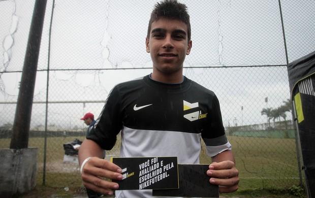 A Chance Rio de Janeiro Daniel Soares volante (Foto: Divulgação/NikeFutebol)