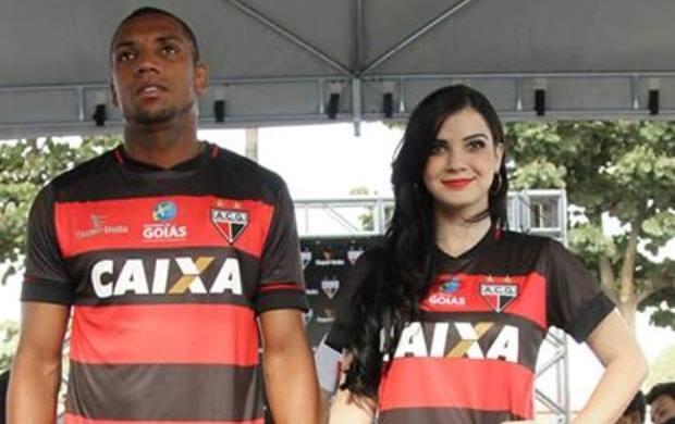 Novo Uniforme - Atlético-GO (Foto: Divulgação / Super Bolla)