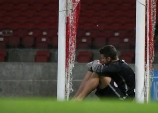 Alisson, goleiro do Inter, despedida, Beira-Rio (Foto: Diego Guichard / GloboEsporte.com)