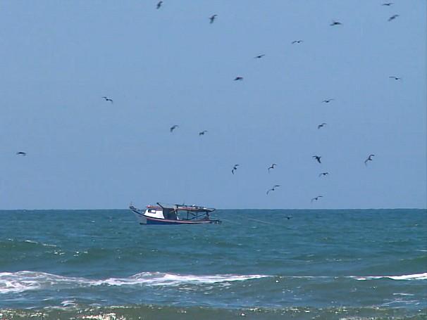 Na alta temporada, a população que é de 10 mil habitantes, pula para quase 100 mil (Foto: Globo)