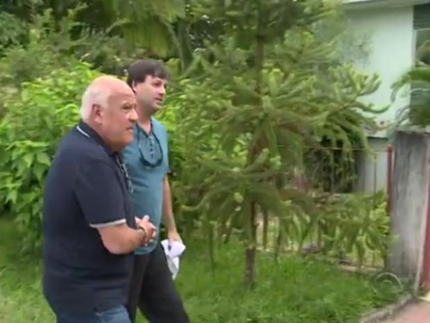 O médico Omar César Ferreira de Castro, de 66 anos, suspeito de violência sexual contra 14 pacientes (Foto: Reprodução/RBSTV)