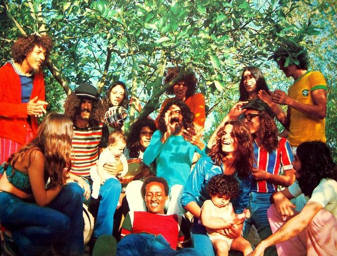 Os Novos Baianos marcaram época com suas canções (Foto: Divulgação)