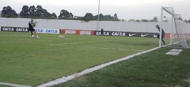 Corinthians pênaltis treino (Foto: Rodrigo Faber)