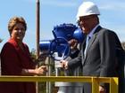 Dilma inaugura duto que leva etanol de Ribeirão Preto a Paulínia, SP